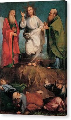 Sacchis Giovanni Antonio De Known As Il Canvas Print by Everett