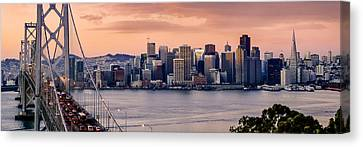 San Francisco Canvas Print by Radek Hofman
