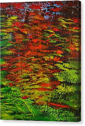 4 Seasons Fall Canvas Print