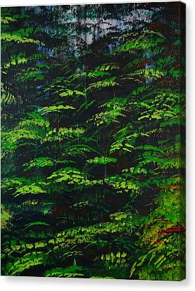 Canvas Print featuring the painting 4 Seasons Summer by P Dwain Morris