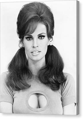 1960s Hairstyles Canvas Print - Shoot Loud, Louder... I Dont by Everett