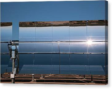 Solar Power Plant Canvas Print by Jim West
