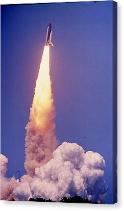 Space Shuttle Challenger  Canvas Print