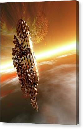 Spacecraft Canvas Print