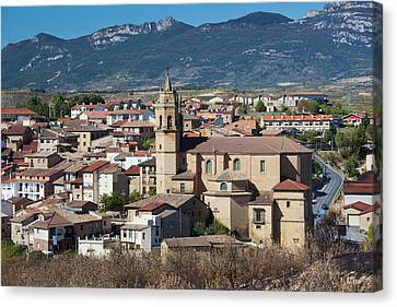 Spain, Basque Country Region, La Rioja Canvas Print