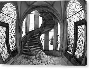 Spiral Staircase Canvas Print by Falko Follert