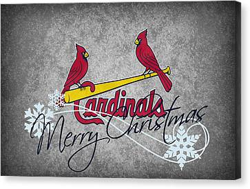 St Louis Cardinals Canvas Print by Joe Hamilton
