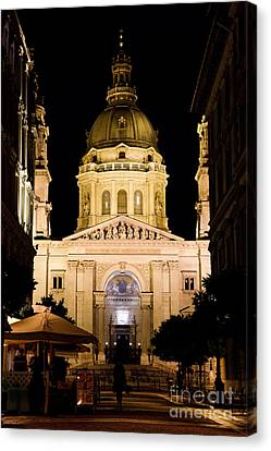St. Stephen's Basilica In Budapest Canvas Print by Michal Bednarek