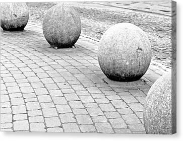 Stone Balls Canvas Print by Tom Gowanlock