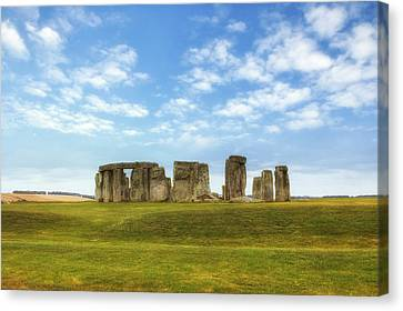 Amesbury Canvas Print - Stonehenge by Joana Kruse