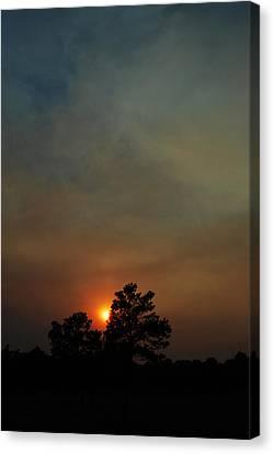 #sunset Canvas Print by Becky Furgason