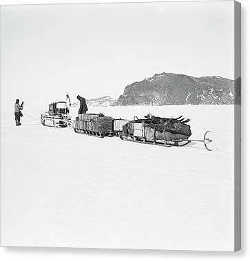 Terra Nova Antarctic Exploration Canvas Print by Scott Polar Research Institute