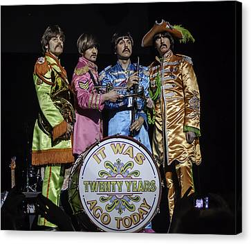 The Fab Four Canvas Print by Salvador Gomez