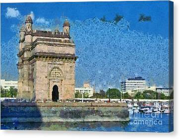 The Gateway Of India Canvas Print by George Atsametakis
