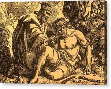 The Good Samaritan Canvas Print