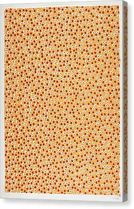 Blockprint Canvas Print - The Olga Hirsch Collection by British Library
