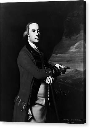 Thomas Gage (1721-1787) Canvas Print by Granger