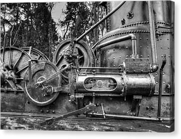 Canvas Print - Tyee Steam Donkey by R J Ruppenthal