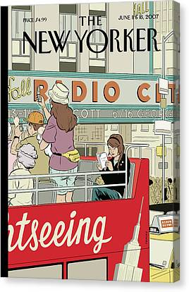 New Yorker June 11th, 2007 Canvas Print