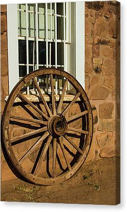 Usa, Arizona, Hubbell Trading Post Canvas Print by Jerry Ginsberg