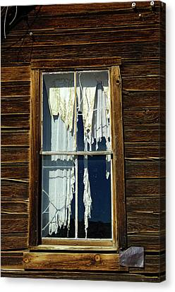Miners Ghost Canvas Print - Usa, California, Bodie State Historic by Jaynes Gallery