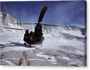 Search And Rescue Canvas Print - Usa, California, Chinook Search by Gerry Reynolds