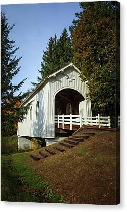 Wayside Canvas Print - Usa, Oregon, Pedee, Minnie Ritner by Rick A Brown