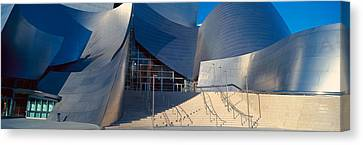 Walt Disney Concert Hall, Los Angeles Canvas Print by Panoramic Images