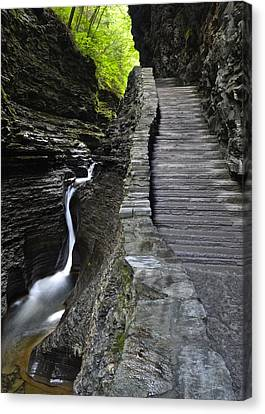 Watkins Glen Canvas Print by Frozen in Time Fine Art Photography
