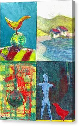 4 Way 1 Canvas Print by James Raynor