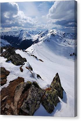 Winter In Tatra Mountains Canvas Print by Karol Kozlowski