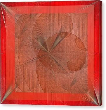 Canvas Print featuring the digital art Wonder by Iris Gelbart