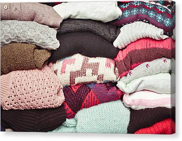 Wool Jumpers Canvas Print