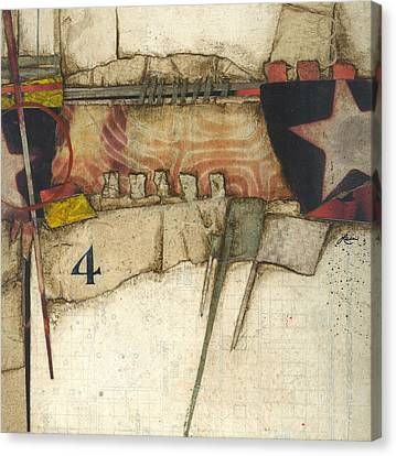 4 You're The Third Star Canvas Print by Laura  Lein-Svencner