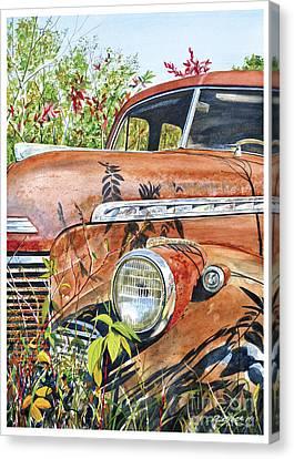 40 Chevy Canvas Print