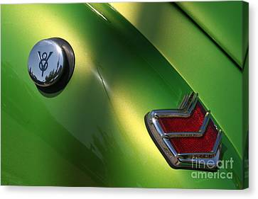 40 Ford - Tank N Tail Light-8527 Canvas Print by Gary Gingrich Galleries