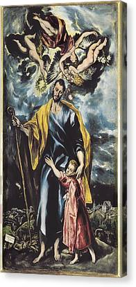 Betrothed Canvas Print - Greco, Dom�nikos Theotok�poulos, Called by Everett
