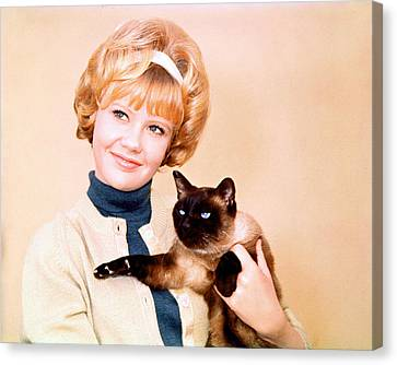 Hayley Mills Canvas Print by Silver Screen