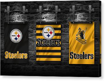 Steelers Canvas Print - Pittsburgh Steelers by Joe Hamilton