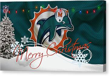 Miami Dolphins Canvas Print