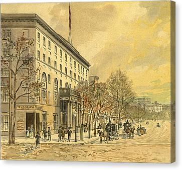 Washington, D Canvas Print by Granger