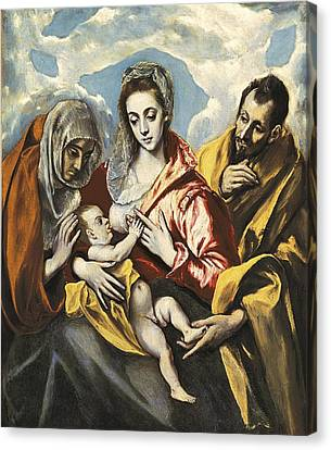 Greco, Dom�nikos Theotok�poulos, Called Canvas Print by Everett