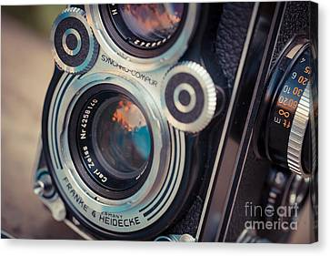 Old Vintage Camera Canvas Print by Sabino Parente