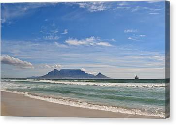 Table Mountain Canvas Print by Werner Lehmann