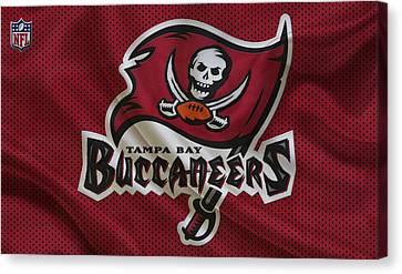 Buccaneer Canvas Print - Tampa Bay Buccaneers by Joe Hamilton
