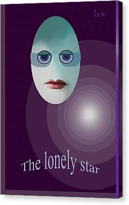 422 - The Lonely Star Canvas Print