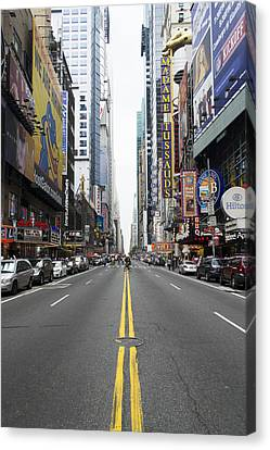 42nd Street - New York Canvas Print