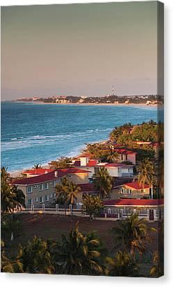 Cuba, Matanzas Province, Varadero Canvas Print by Walter Bibikow