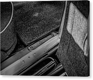 Ford Model A In Black And White Canvas Print