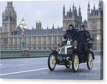 London To Brighton Veteran Car Rally Canvas Print by Philip Pound